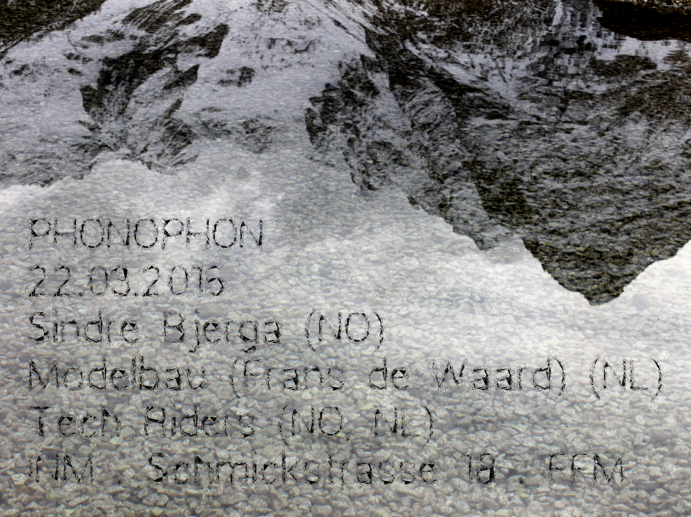 22.03.2016: Sindre Bjerga (NO) - Modelbau (Frans de Waard) (NL) - Tech Riders (NO, NL)