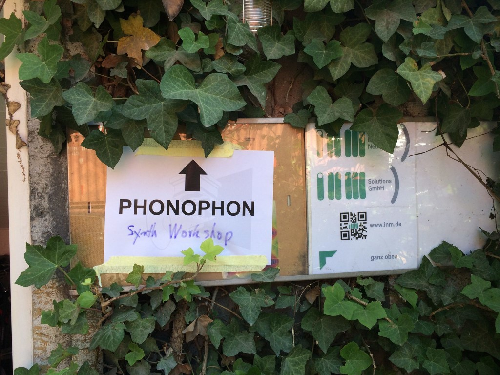 Phonophon Synth Workshop